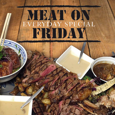 Meat on Friday Vleeschotel voor 4